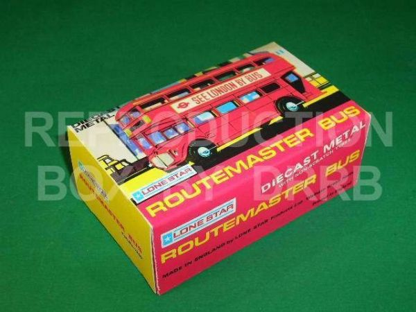 Lone Star #1259 Routemaster Bus 'See London by Bus' - Reproduction Box